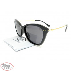 Secret SE 96638002 55 Kim Acetato Preto / Metal Dourado