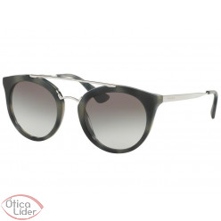 Prada Cinema SPR23s usi 0a7 52 Acetato Mesclado / Metal Prata