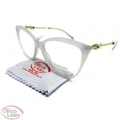 Tiffany & Co. TF2161-B 8243 54 Gatinho Transparente / Dourado