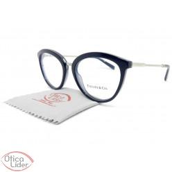 Tiffany & Co. TF2173 8191 53 Acetato Azul Marinho / Metal Prata