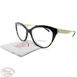 Tiffany & Co. TF2180 8275 54 Acetato Havana e Azul / Metal Dourado