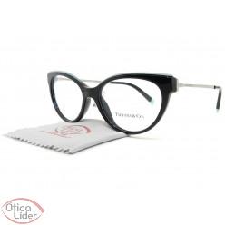 Tiffany & Co. TF2183 8001 52 Acetato Preto / Metal Prata