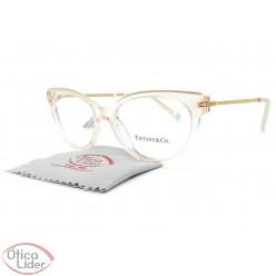 Tiffany & Co. TF2183 8278 52 Acetato Rosa Cristal / Metal Dourado