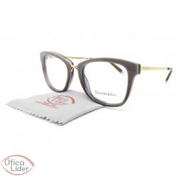 Tiffany & Co. TF2186 8277 52 Acetato Marrom / Metal Dourado