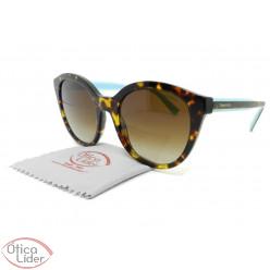 Tiffany & Co. TF4164 8015/3b 52 Acetato Havana e Azul / Metal Dourado