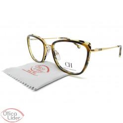 Carolina Herrera VHE134  col.08fc 53 Acetato Mesclado / Metal Dourado