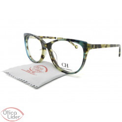 Carolina Herrera VHE804  col.07uh 54 Acetato Mesclado c/ Azul