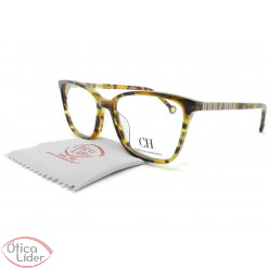 Carolina Herrera VHE838 col.0777 53 Acetato Mesclado Marrom / Âmbar
