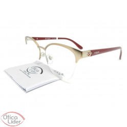 Vogue VO4042l 995 53 fny Metal Dourado / Acetato Bordô