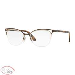 Vogue VO4087-l 997 53 fny Metal Marrom / Acetato Havana