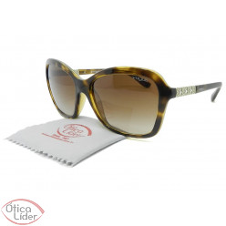 Vogue VO5021-bl w65613 57 Acetato Havana / Metal Prata