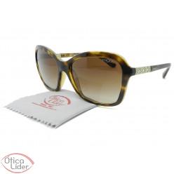 Vogue VO5021-bl w65613 57 Acetato Havana / Metal Prata