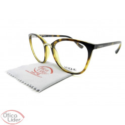 Vogue VO5121-l w656 51 Acetato Havana Transparente