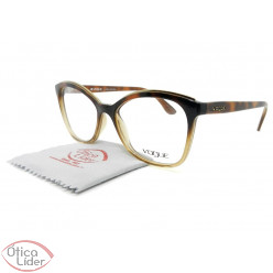 Vogue VO5160l 2750 54 Acetato Marrom Transparente / Dark Havana