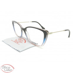 Vogue VO5249-l 2664 52 Acetato Marrom Transparente   Metal Rosado 89e9c35d66