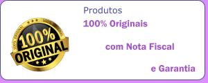 Produtos 100% originais, com nota fiscal e garantia